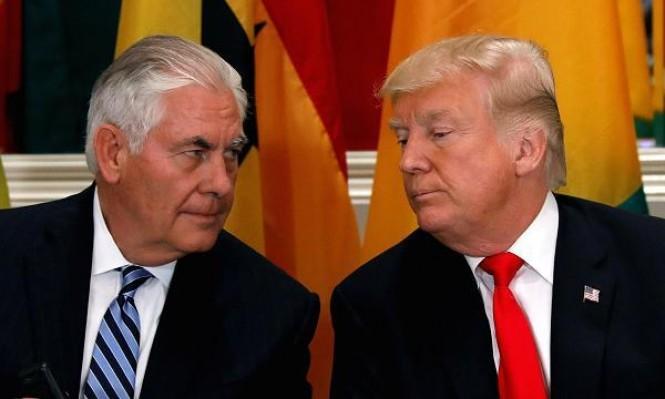 ترامب وتيلرسون يفتحان النار على بعضهما البعض