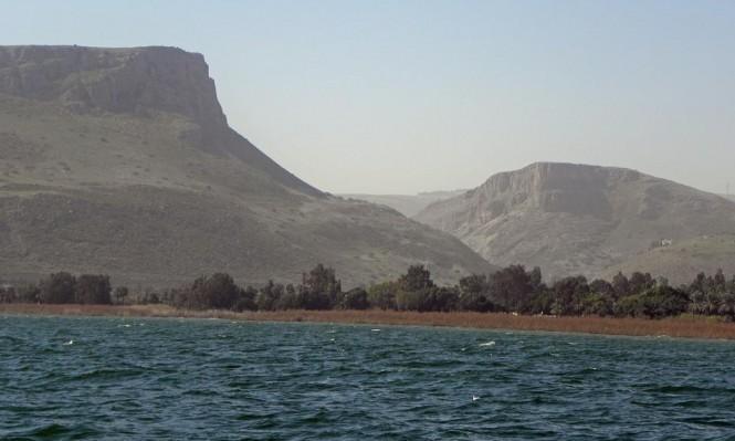 ارتفاع مستوى المياه في بحيرة طبرية بـ4 سنتمترات