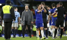 فيديو: غوارديولا يثير الجدل بعد الهزيمة أمام تشيلسي