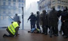 """""""السترات الصفراء"""": فرنسا تعتقل 1723 وتطالب ترامب عدم التدخل"""