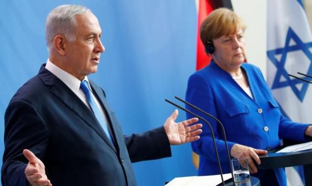 نتنياهو يطالب ميركل بوقف تمويل المتحف اليهودي في برلين