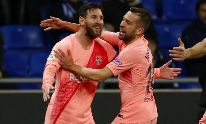 ميسي: كنت محظوظا بتسجيل هدفين أمام إسبانيول