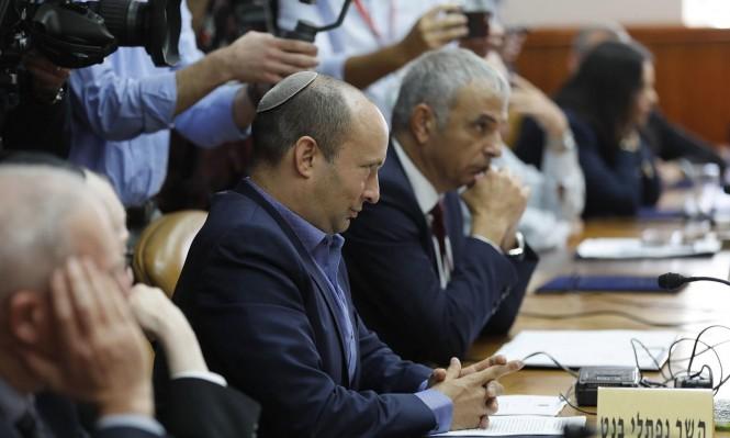 كحلون وبينيت يطالبان نتنياهو بتعيين موعد لانتخابات مبكرة