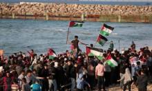 غزة: 19 إصابة في قمع الاحتلال للمسير البحري الـ19