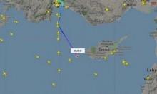 طائرة تركية تستخدم كلمة