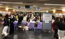 التجمع الطلابي يفتتح معرض الكتاب لهذا العام بجامعة حيفا