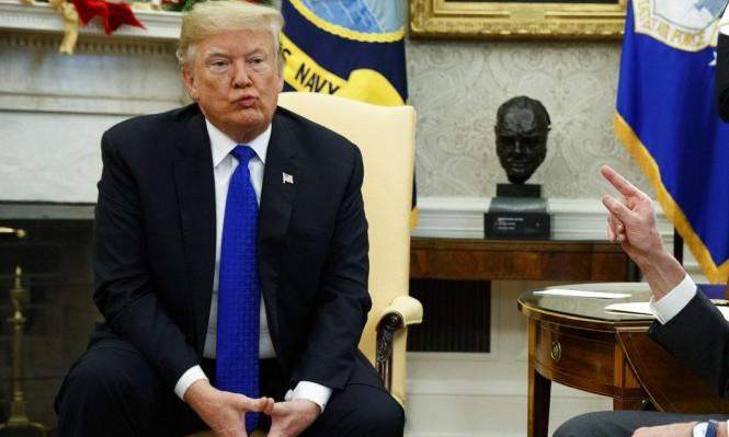 ترامب يهدد: تعليق عمل الحكومة أو تمويل الجدار الحدودي مع المكسيك