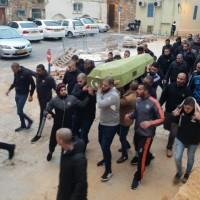 عكا: تشييع جنازة ضحية جريمة القتل إيمان عوض