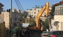 بلدية الاحتلال تهدم كراجا في بيت حنينا