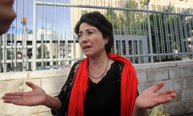 """النائبة زعبي: """"يجب إعادة النظر بسياسة لجان الصلح"""""""