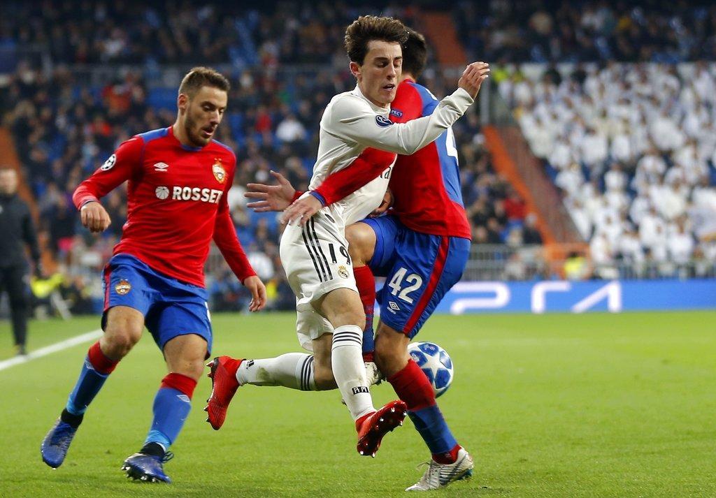 سسكا موسكو يسحق ريال مدريد في عقر داره