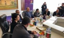 نواب القائمة المشتركة يزورون بلدية الناصرة