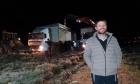"""مستوطنون يستولون على أراض فلسطينية ويعيدون البناء في """"عمونا"""""""