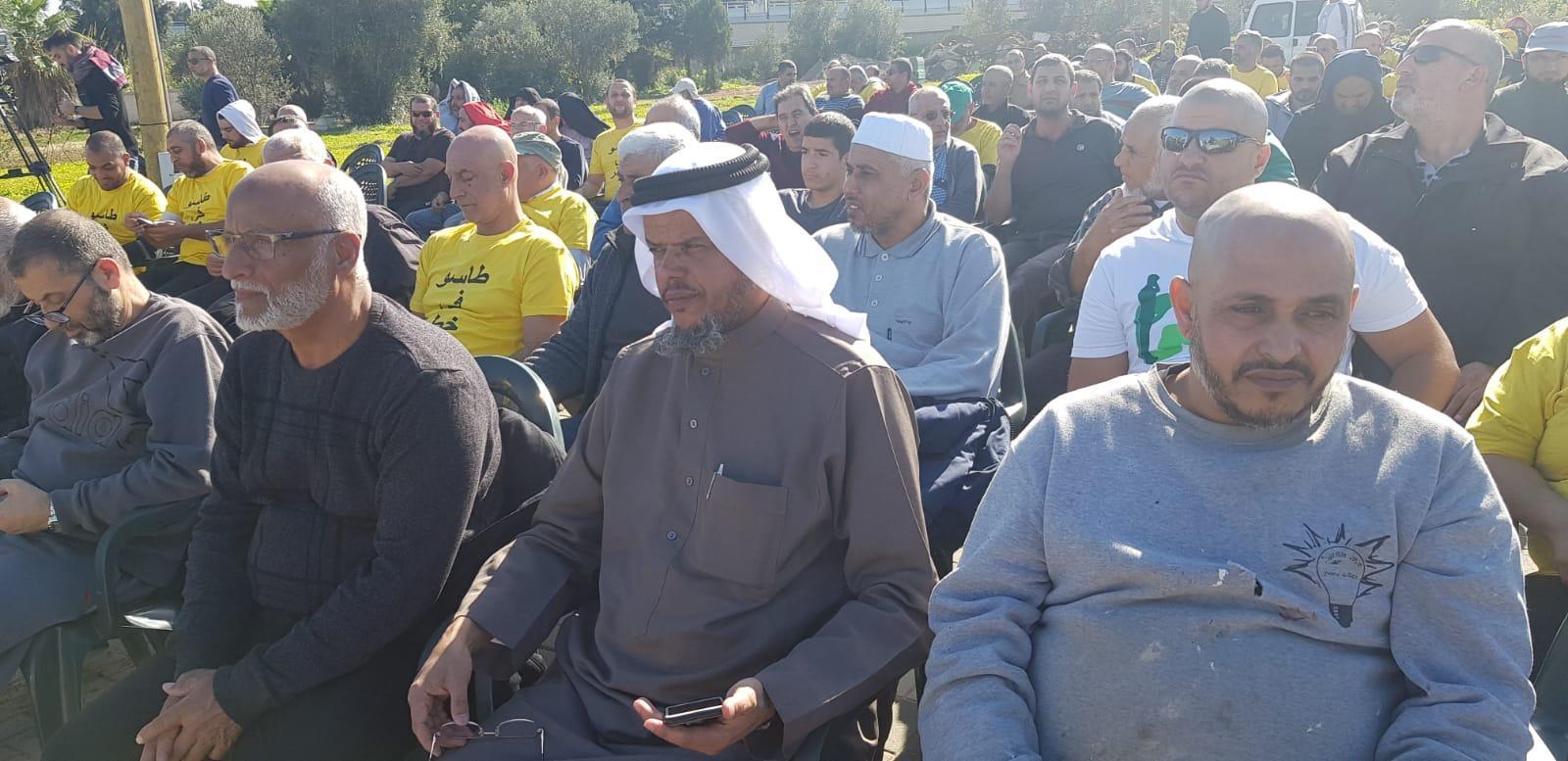 يافا: معسكر عمل تطوعي لتنظيف مقبرة طاسو