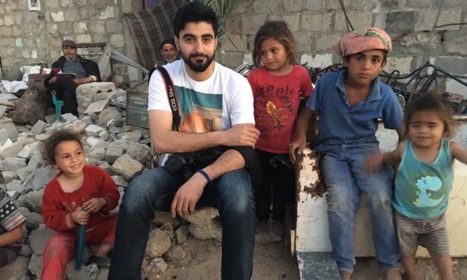 """قناة """"آي 24"""" الإسرائيليّة تُحرض ضد المصور الفلسطيني وسام نصار"""