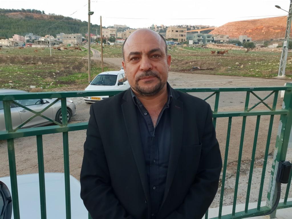 مسعود غنايم في القرية (عرب 48)