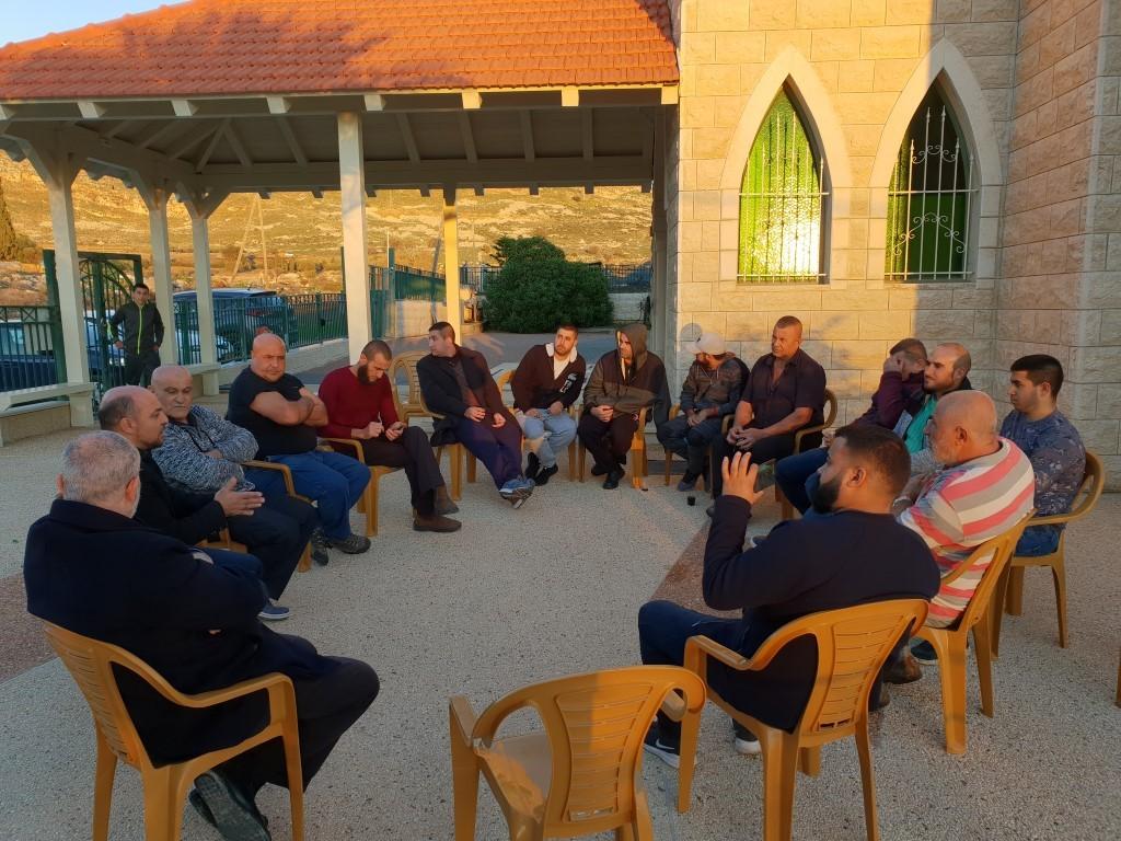 من اجتماع أهالي القرية (عرب 48)