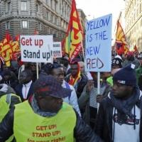 الآلاف يتظاهرون في إيطاليا رفضا للحد من استقبال المهاجرين