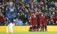 ليفربول يقهر مانشستر يونايتد ويستعيد الصدارة