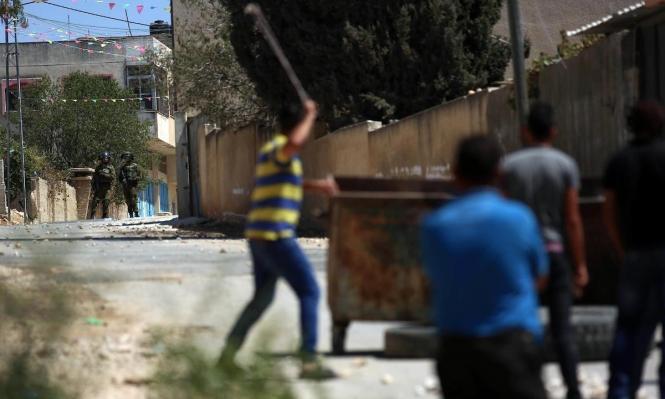قلقيلية: إصابة حرجة في مواجهات مع الاحتلال