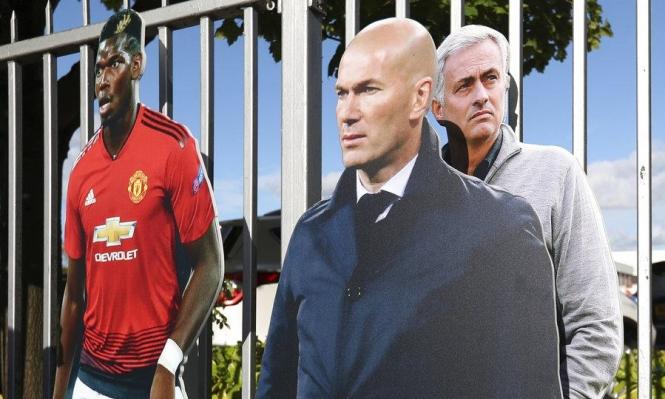 مانشستر يونايتد يقدم عرضا لزيدان: هل يخلف مورينيو؟
