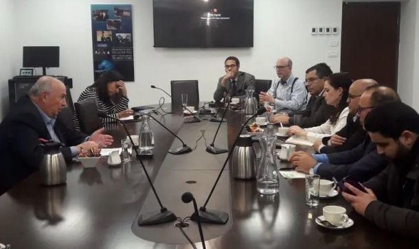 صحافيون من دول عربية في الكنيست