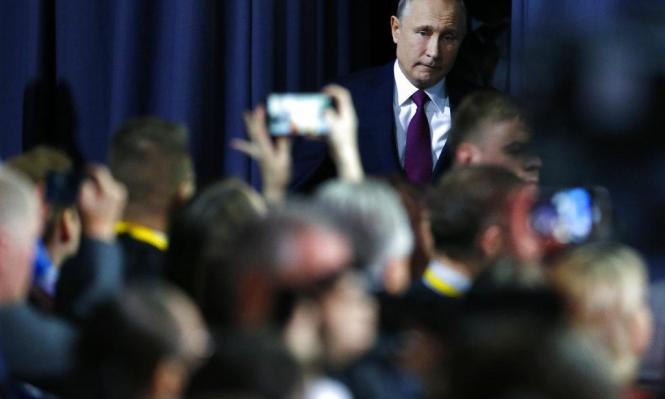 """بوتين: تم تحقيق الانتصار على """"داعش"""" بسورية"""