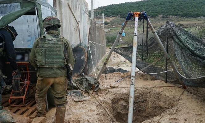 """""""درع شمالي"""": الاحتلال يشرع بتدمير أنفاق حزب الله"""