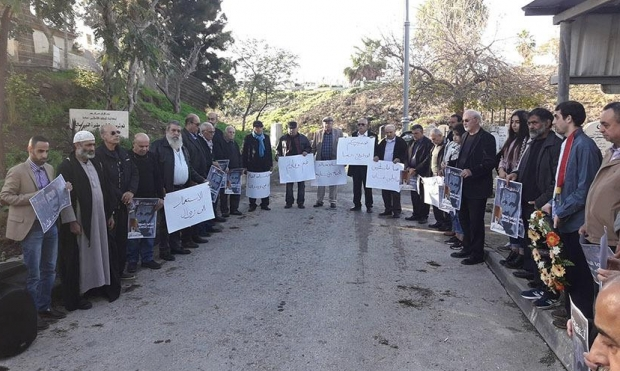 عكا: وقفةٌ احتجاجية ضد إزالة النصب التذكاري لغسان كنفاني