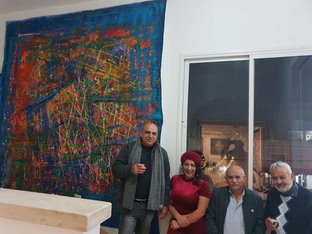خزيمة حامد: تربطني علاقة روحانية بالفن التشكيلي