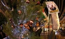 إضاءة شجرة ميلاد الحرية للأسرى في بيت لحم