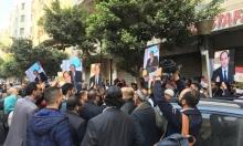 عشرات المصريين يطالبون بتمديد فترة رئاسة السيسي