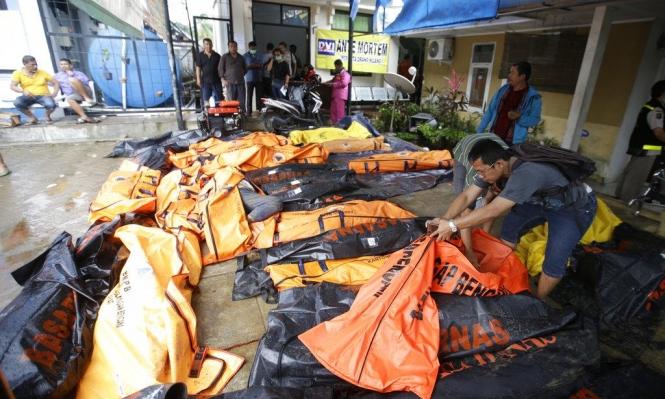 تسونامي إندونيسيا يخلف 222 قتيلا و843 جريحا