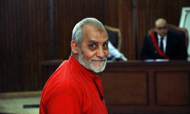حكم جديد على مرشد الإخوان ليرفع مجموع أحكامه لـ85 عامًا | أخبار عربية  ودولية | عرب 48