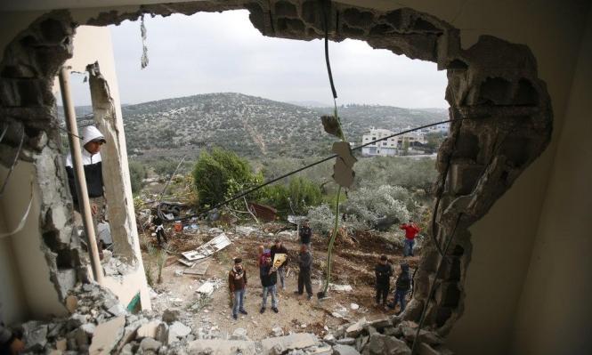 قاض إسرائيلي: سياسة هدم بيوت الفلسطينيين غير رادعة ولا ناجعة