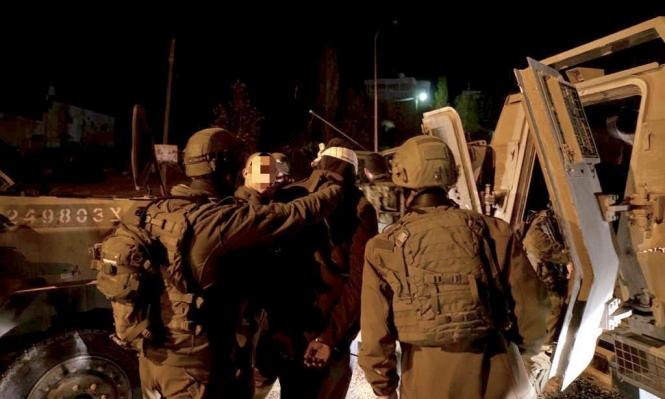 اعتقالات بالضفة ومصادرة أراض للتوسع الاستيطاني قرب قلقيلية