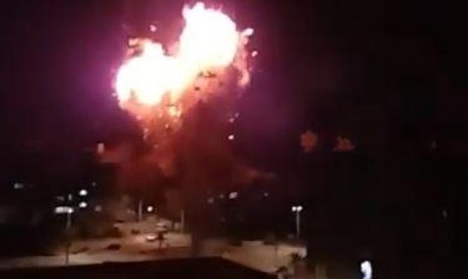 غارات إسرائيلية قرب دمشق وصاروخ سوري جنوب حيفا