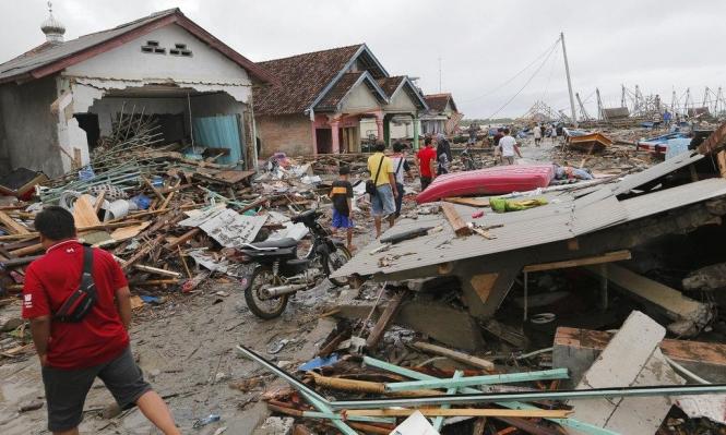 إندونيسيا: ارتفاع حصيلة ضحايا المد البحري إلى 429