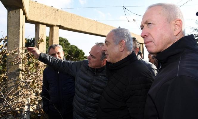 """الجيش الإسرائيلي يرفض طلب نتنياهو بالإعلان عن انتهاء """"درع شمالي"""""""