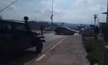 إصابة فلسطيني بذريعة محاولة تنفيذ عملية دهس جنوب نابلس