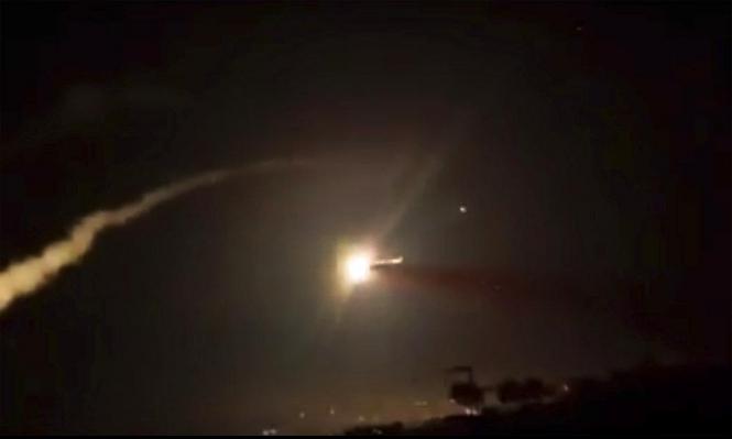 تقرير: إصابة مسؤولين من حزب الله بالغارات الإسرائيلية على سورية