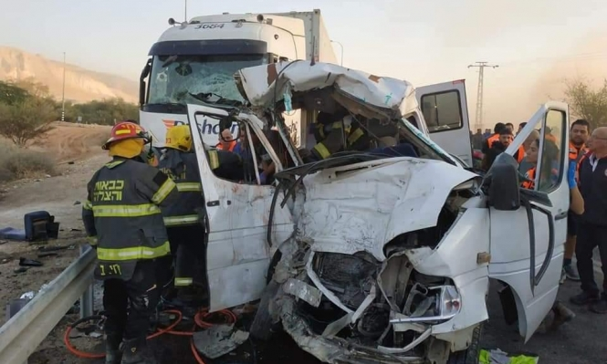 94 عربيا لقوا مصارعهم بحوادث طرق منذ مطلع 2018