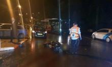 حيفا: إصابة خطيرة لسائق دراجة نارية في حادث طرق