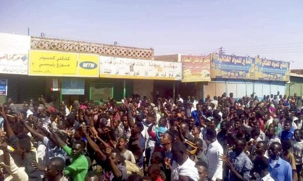 """احتجاجات """"الخبز والوقود"""": الخرطوم تشهد مظاهرات واسعة لليوم العاشر"""