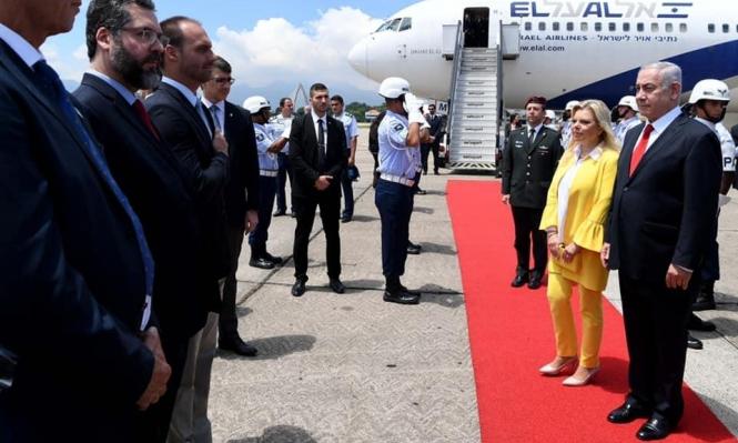 جولتا نتنياهو في البرازيل وواشنطن كجزء من حملته الانتخابيّة