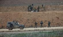 الاحتلال يقصف قطاع غزة بذريعة الرد على إطلاق صاروخ