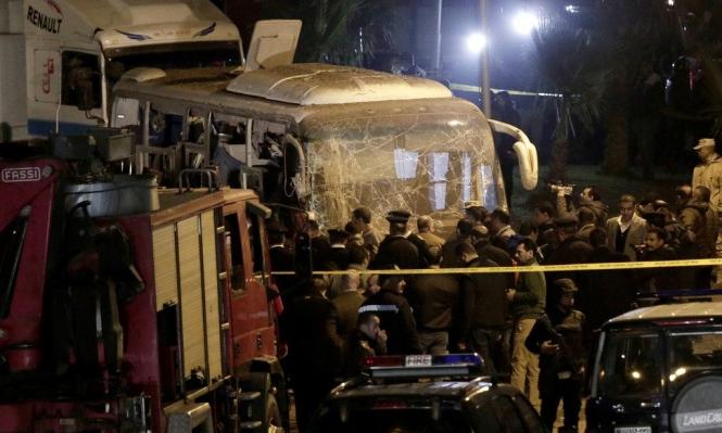 مصر: ارتفاع عدد قتلى استهداف حافلة إلى 4 وإصابة 12 آخرين