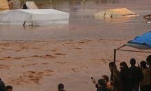 النازحون السوريون بأمس الحاجة للمساعدات الإنسانية بسبب السيول