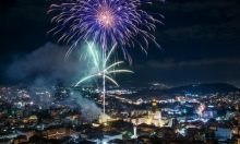 الناصرة: إطلاق الألعاب النارية من كنيسة البشارة الليلة
