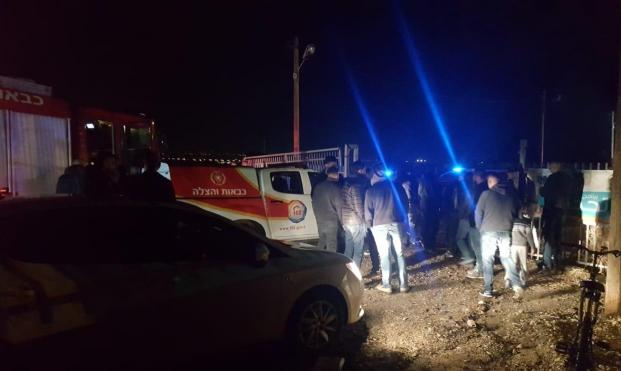 إصابة متوسطة في انفجار سيارة في جت